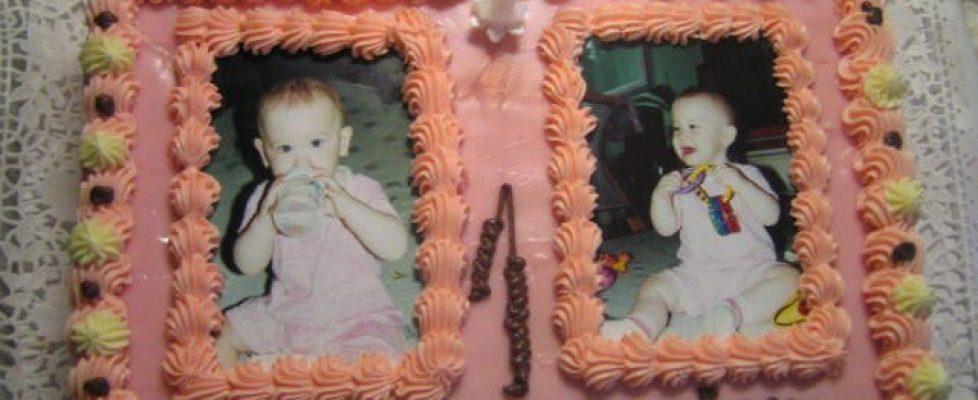 1.születésnapi torta