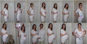 terhesség képekben