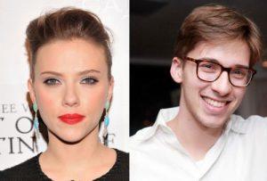 Scarlett and Hunter Johansson
