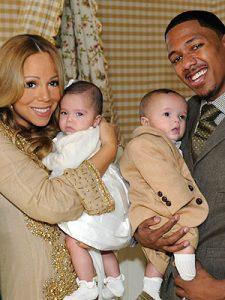 Mariah Carey gyermekaivel. Moroccan és Monroe