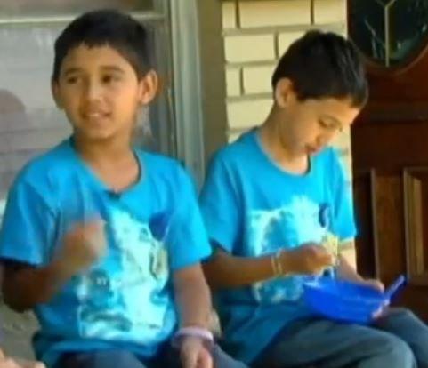 7éves ikrek verték meg az autótolvajt