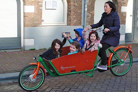 családi bicikli